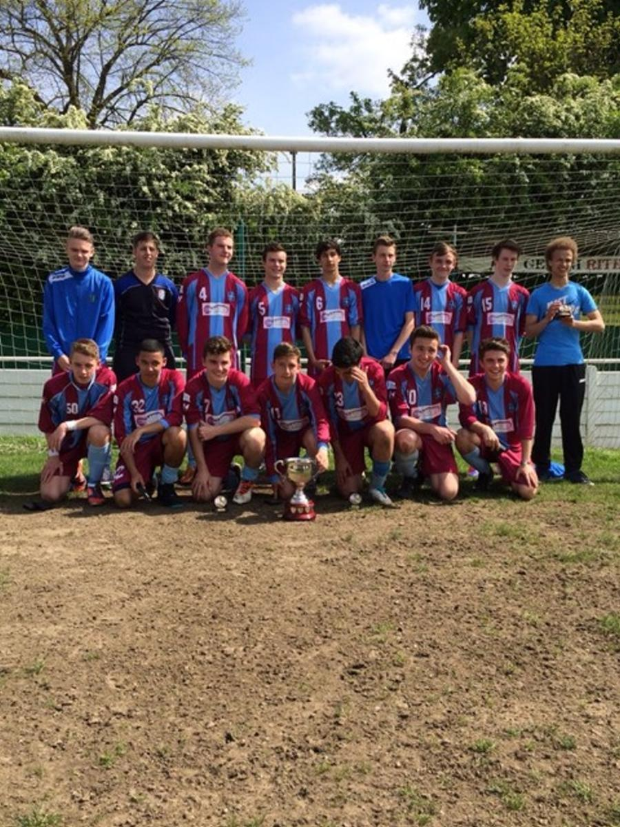 Aldershot Boys win the cup!